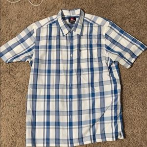 Quicksilver button down